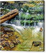 Au Train Falls Iv Acrylic Print