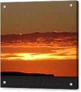 Auburn Sky Acrylic Print