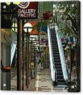 Auckland Shopping Mall Acrylic Print