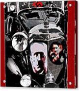 Auction  Sale  Of Adolf Hitler's Model 770-k 1941 Mercedes-benz Touring Car In Scottsdale Az 1973  Acrylic Print