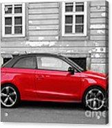 Audi A1 Car Acrylic Print