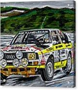 Audi Quattro Acrylic Print