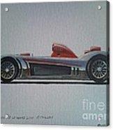 Audi R8 Le Mans Acrylic Print