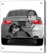Audi S5 Laid Back Copenhagen Acrylic Print