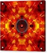 Audio Kaleidoscope Acrylic Print