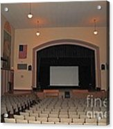 Auditorium In Clare Michigan Acrylic Print