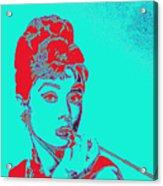Audrey Hepburn 20130330v2p128 Square Acrylic Print
