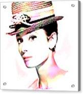 Audrey Hepburn 6 Acrylic Print