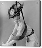 Audrey Hepburn In Costume For My Fair Lady Acrylic Print