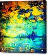 August Evening Acrylic Print