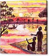 Auld Lang Syne Acrylic Print