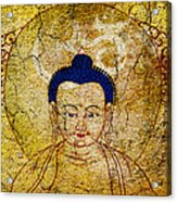 Aum Buddha Acrylic Print by Tim Gainey