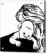 Aunt Jo And Cheychey Acrylic Print