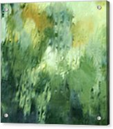 Aurora Borealis Abstract Acrylic Print