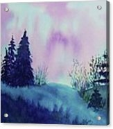 Aurora Borealis I Acrylic Print