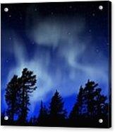 Aurora Borealis Wall Mural Acrylic Print