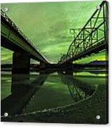 Aurora Bridge Acrylic Print