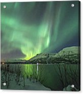 Aurora In Nothern Norway I Acrylic Print