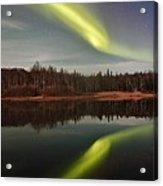 Aurora Reflections Acrylic Print