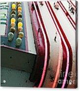 Aurora Theater Marquee - Detail Acrylic Print