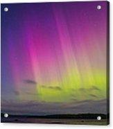 Auroras Over A Lake Acrylic Print