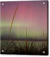 Auroras Over Lake Michigan Acrylic Print
