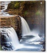 Ausable Chasm Waterfall Acrylic Print