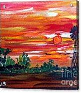 Aussie Mill Acrylic Print