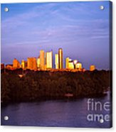 Austin At Last Light Acrylic Print