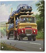 Austin Carrimore Transporter Acrylic Print by Mike  Jeffries