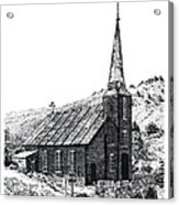 Austin Church Acrylic Print