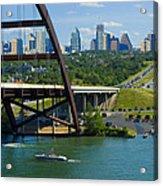 Austin From The 360 Bridge Acrylic Print