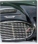 Austin-healey 3000 Grille Emblem Acrylic Print