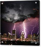 Austin Light Show Acrylic Print