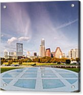 Austin Skyline From The Longs Center For The Performing Arts Acrylic Print