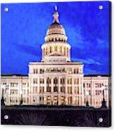 Austin State Capitol Building, Texas - Acrylic Print