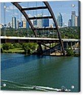 Austin Texas 360 Bridge Vert Acrylic Print