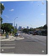 Austin Texas Congress Street View Acrylic Print