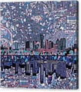 Austin Texas Skyline 3 Acrylic Print