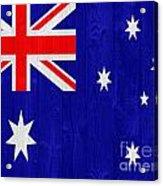 Australia Flag Acrylic Print
