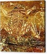 Australia Ancient Aboriginal Art 1 Acrylic Print