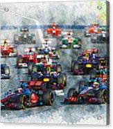 Australian Grand Prix F1 2012 Acrylic Print