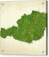 Austria Grass Map Acrylic Print