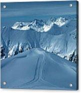 Austria Mountain Ischgl Acrylic Print