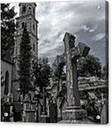 Austrian Graveyard Acrylic Print