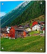 Austrian Village Acrylic Print