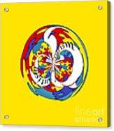 Autism Orb Acrylic Print