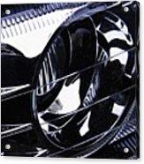 Auto Headlight 155 Acrylic Print