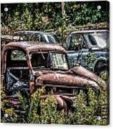 Auto Junk Yard Acrylic Print