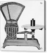 Automatic Computing Scale Acrylic Print